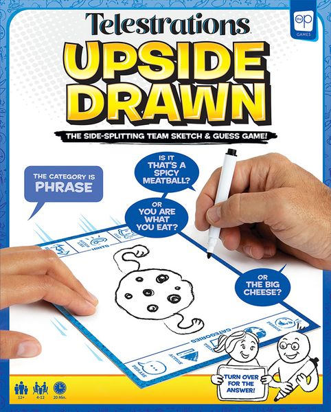 Telestrations Upside Drawn Cover